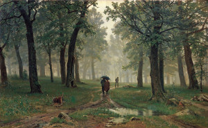 Shishkin Rain in an Oak Forest